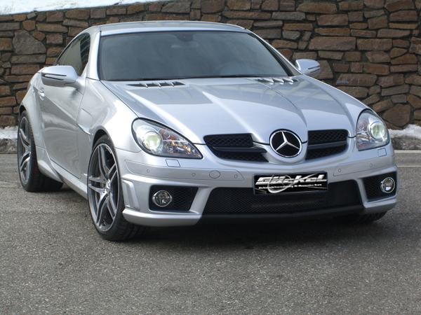 Slk r171 mercedes benz black series amg 65 look umbau for Mercedes benz slk 65 amg