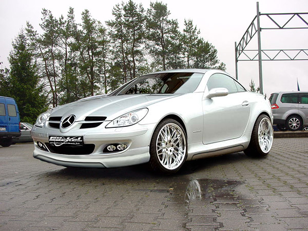 heckspoiler bilder mercedes benz slk r171 styling. Black Bedroom Furniture Sets. Home Design Ideas