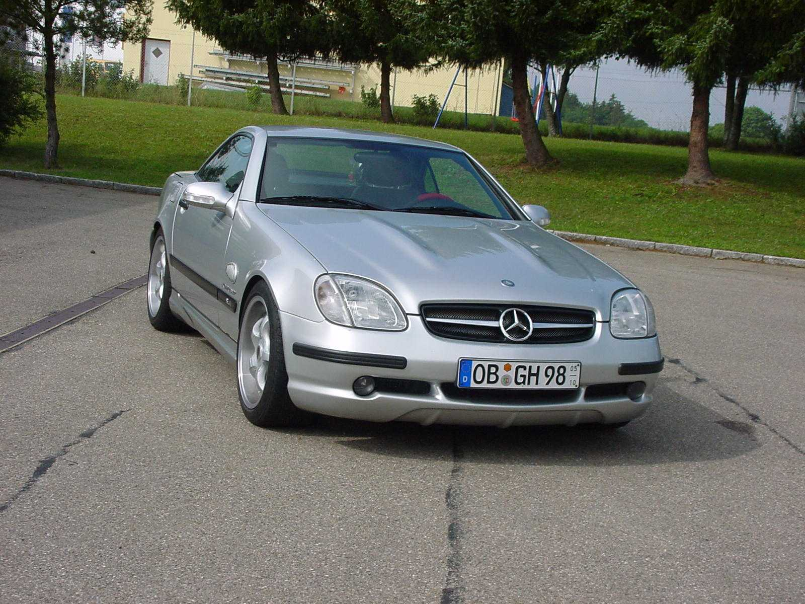 SLK R170 AMG Look goeckel Styling