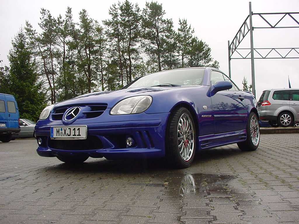 SLK R170 AMG 65 Look goeckel Styling