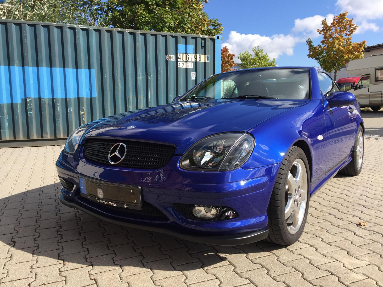 SLK R170 AMG 32 Look goeckel Styling