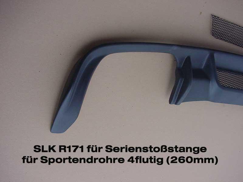 SLK R171 Diffusor Heckblende Mercedes Benz