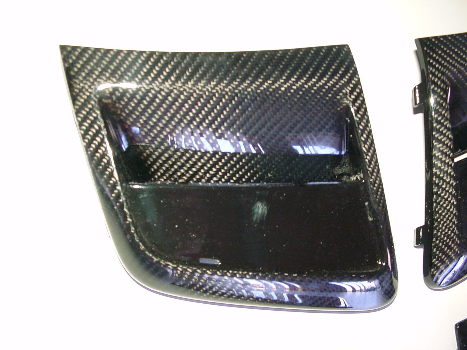SLK R171 AMG55 Luftschachtblenden AMG Stoßstange Göckel Automobilveredelung Styling Tuning Mercedes Benz