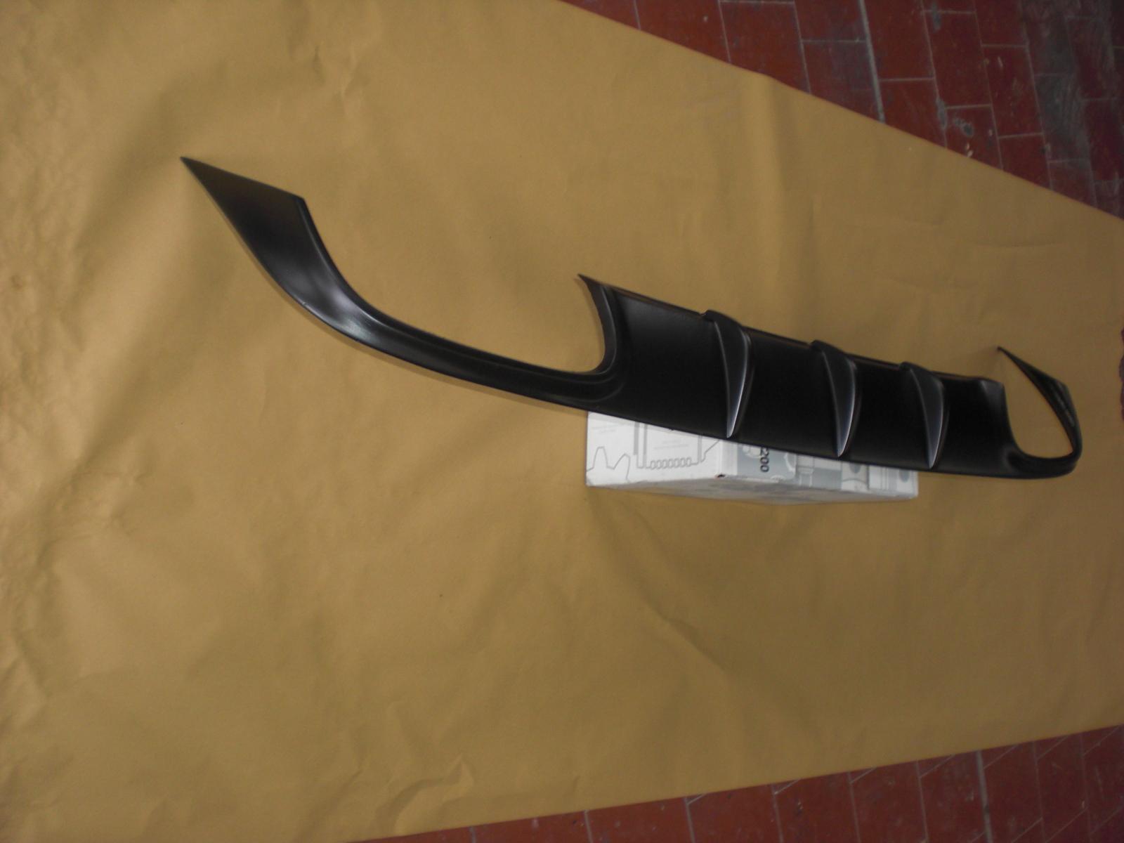 SLK R172 heck verkleidung stoßstange  Diffusor Diffuser Heckblende AMG 55