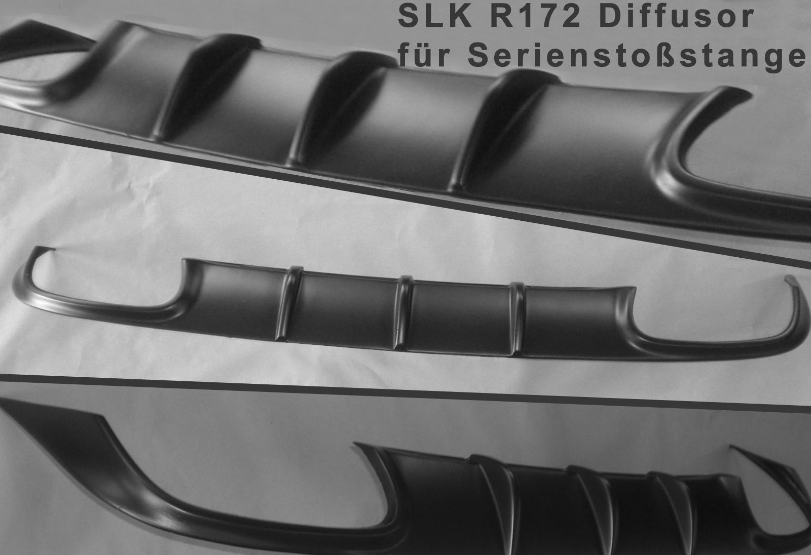 Diffusor Dynamik für Sportauspuff SLK R172