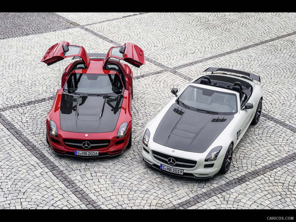 SLS C197 Coupe, Roadster, Black Series