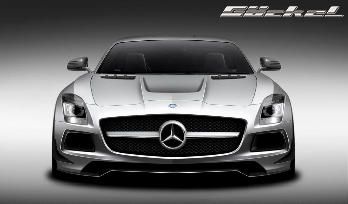 mercedes benz design, SLS C197 Göckel Mercedes Benz SLS C197 Automobilveredelung