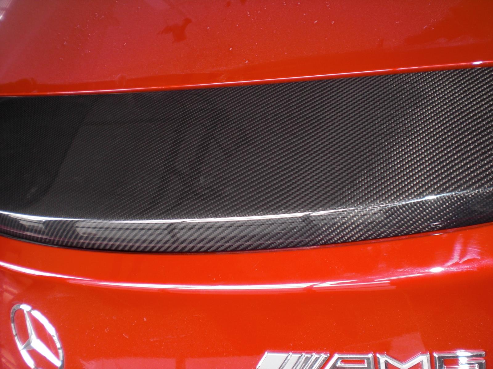 SLS C197 Black Series Heckflügel, Heckspoiler Göckel Carbon