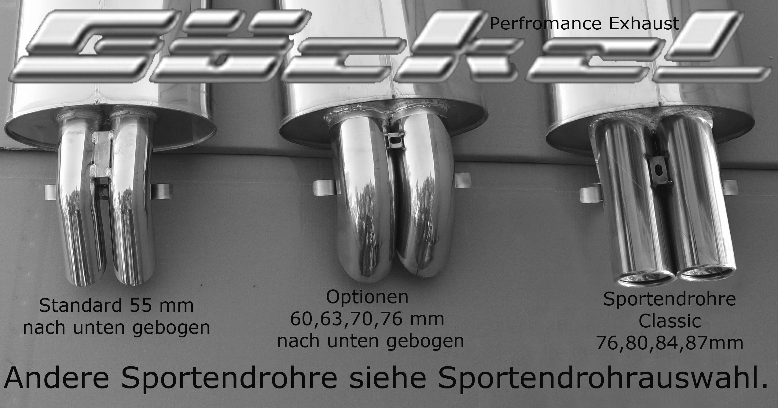 Sportauspuff SL R107 C107 W107