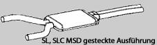 MSD SL R107 W107