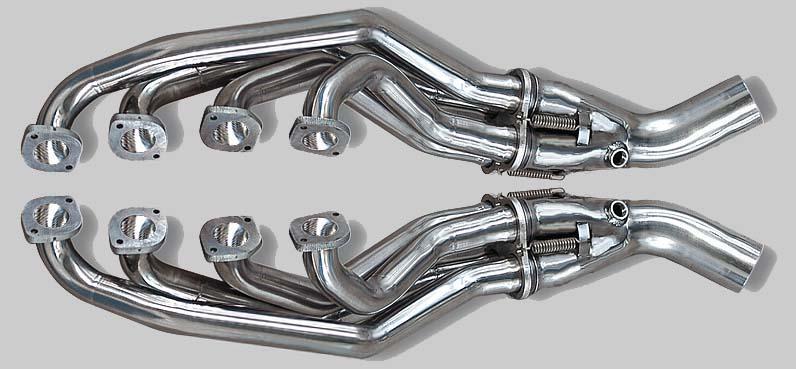 SL R129 Aupuff Krümmer, Sport Krümmer, Fächer Krümmer