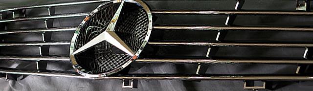 SL R129  Kühler Grill