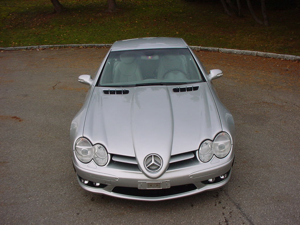 Mercedes SL R230 SLR Look  Styling Umbau Göckel