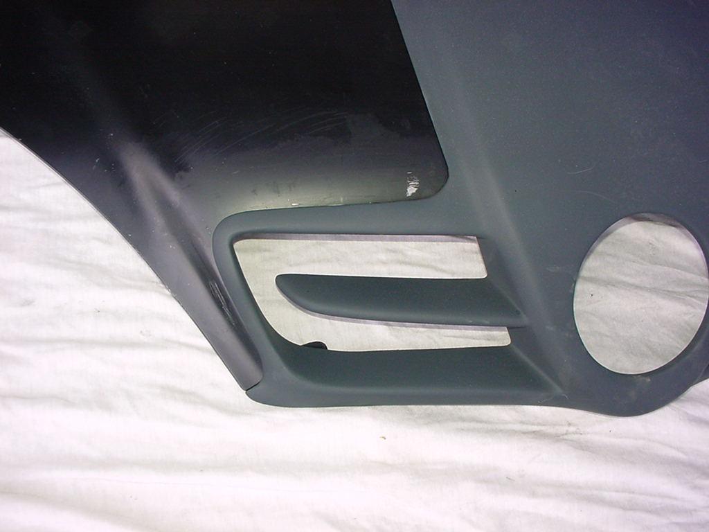 SLR Look Sport Motorhaube W168 Goeckel