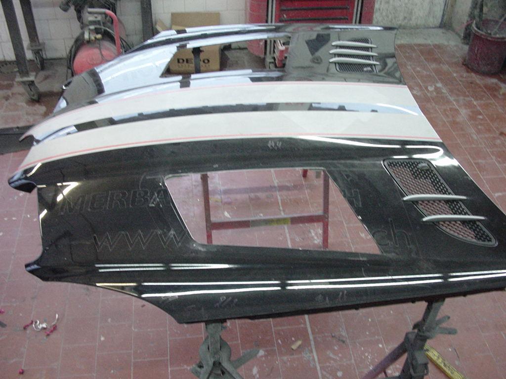 Sport Motorhaube Bausatz Black Series