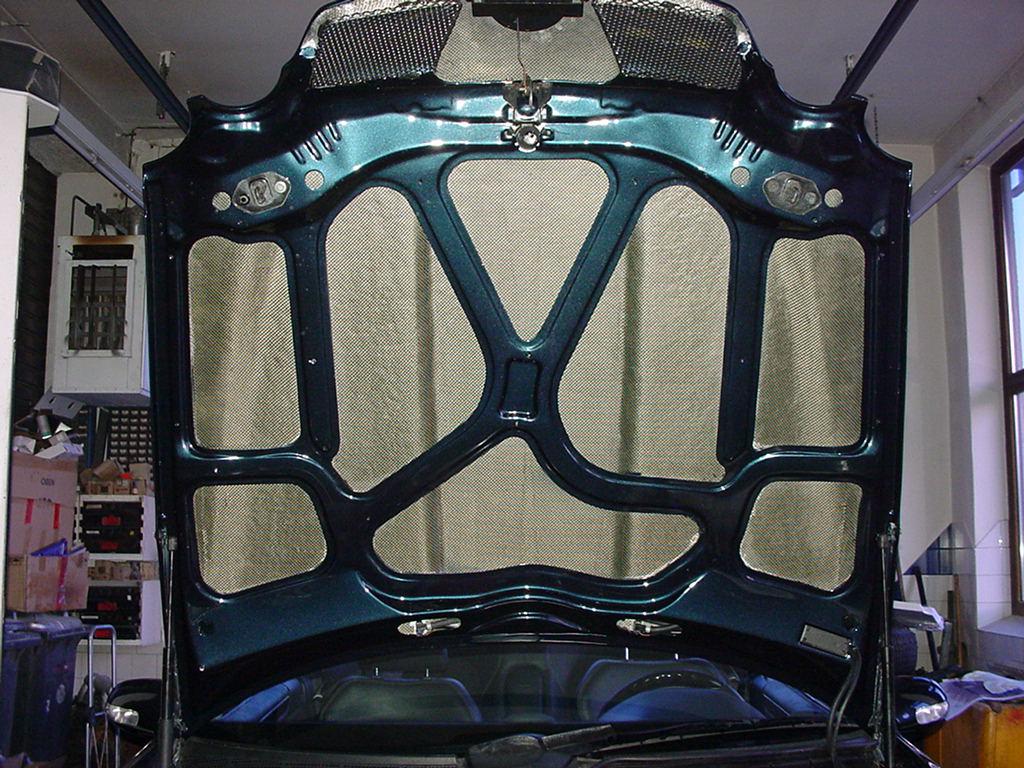 Carbon Kevlar Motorhaube Göckel