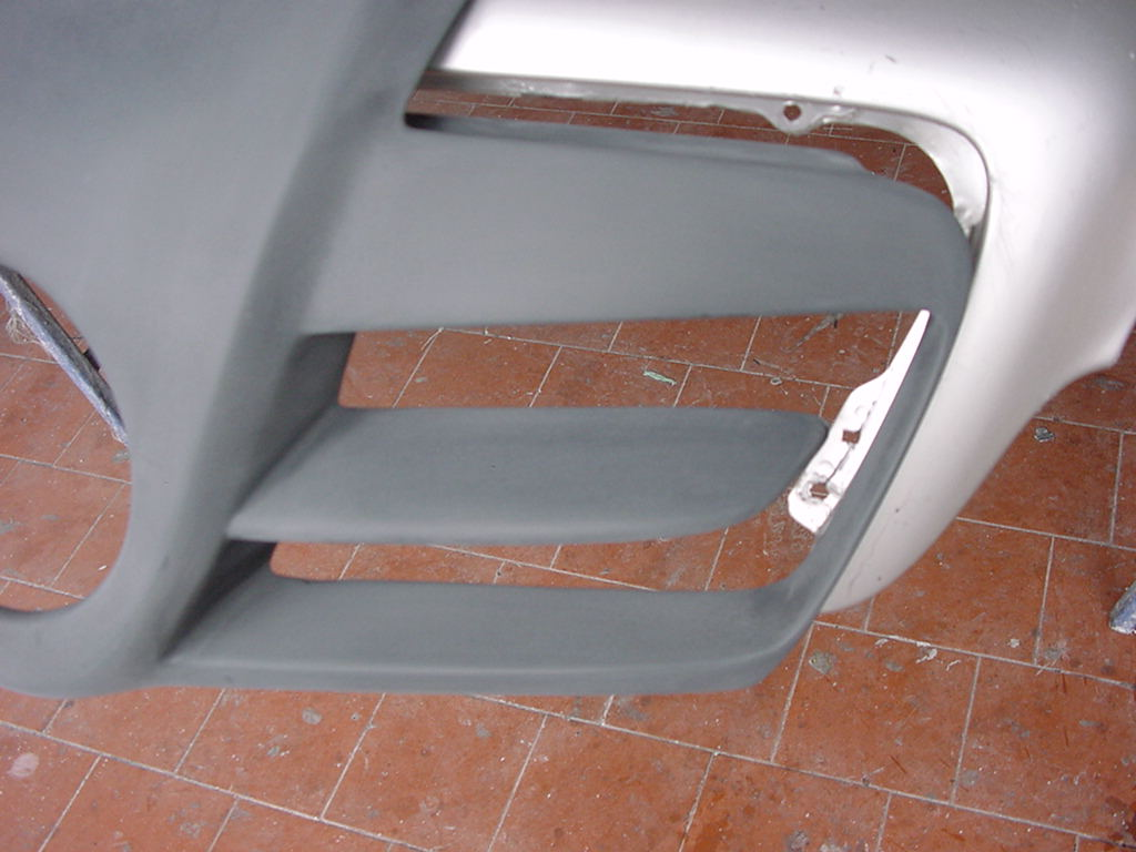 SLR Look Sport Motorhaube Aufsatz Goeckel
