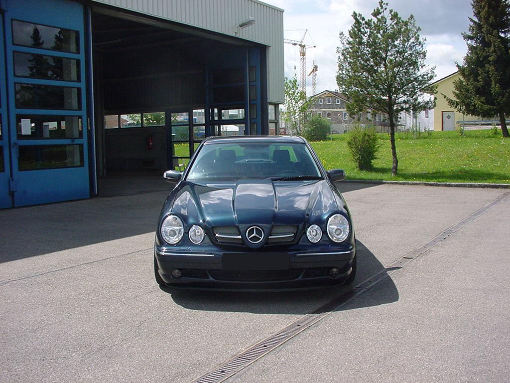 SLR Look Sport Motorhaube W210 Goeckel