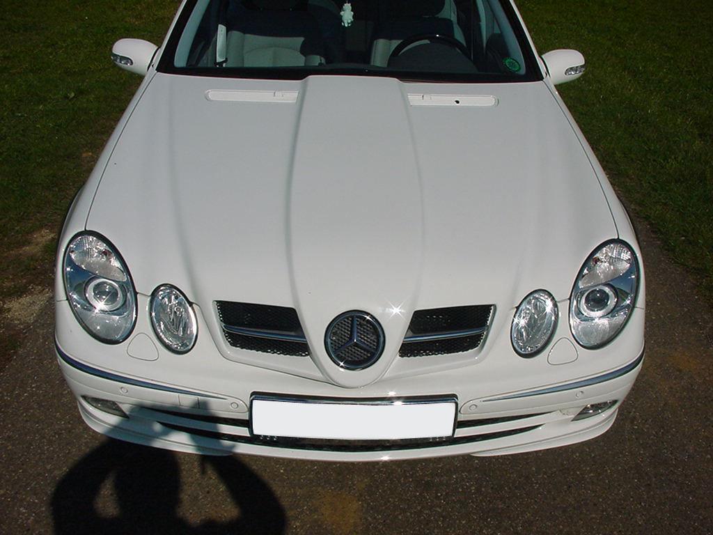 SLR Look Sport Motorhaube W211 Goeckel