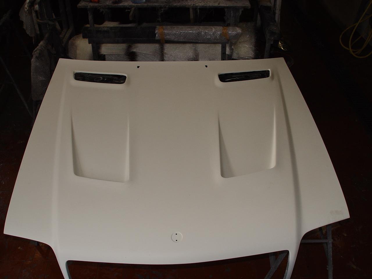 Sport Motorhaube SL R129