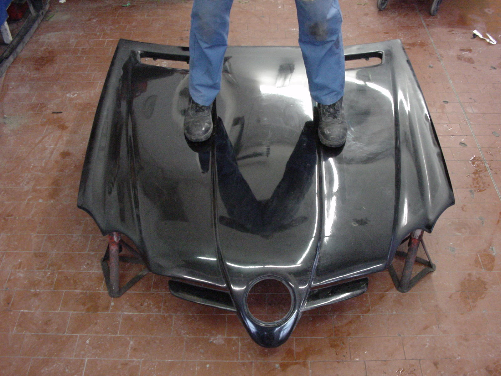 SLR Look Sport Motorhaube SL R230 Goeckel