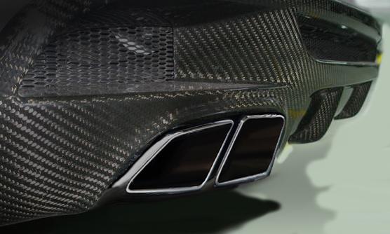 Diffussor Mercedes performance
