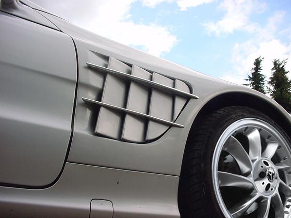 Mercedes Sportflügel SL R230 Göckel SLR Umbau