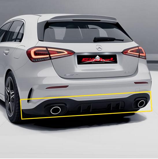Diffusor NUR für AMG Styling Paket. AB 05/2018