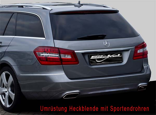 E-Klasse W212 Kombi Sportendrohr Look bis 03.2013