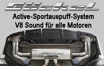 Mercedes Tuning Active Sound Soundaktor Sound Booster V8