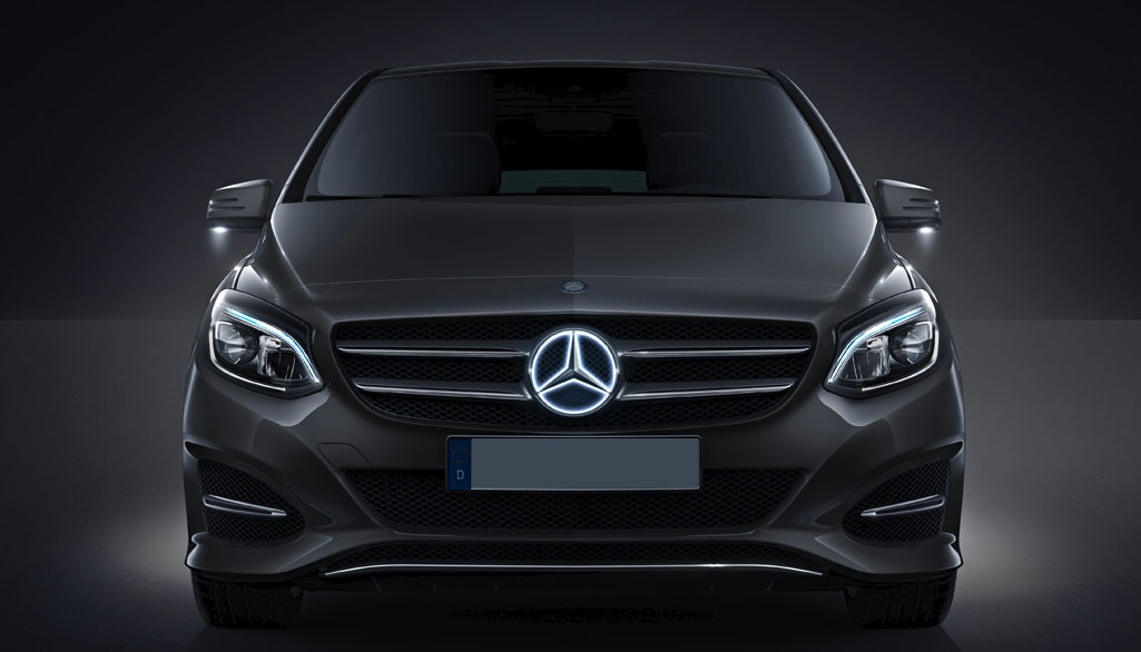 Mercedes Tuning B Klasse W245 Mercedes Styling