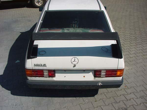 EVO II Heckflügel Look 190er W201