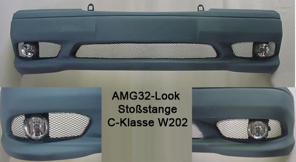 Frontspoiler-Stoßstange_Mercedes_C-Klasse_W202_Goeckel