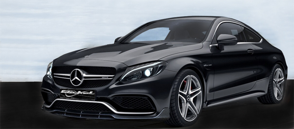 Frontspoilerlippe für Basis Modell Mercedes-AMG C 63 S Coupé