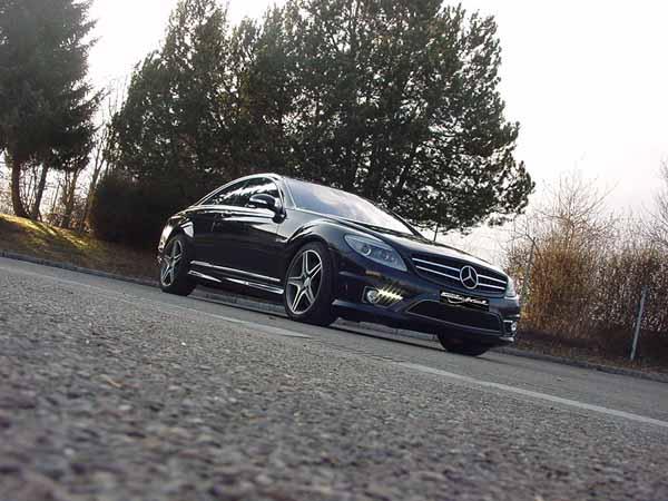 cl W216 AMG63 Stoßstange