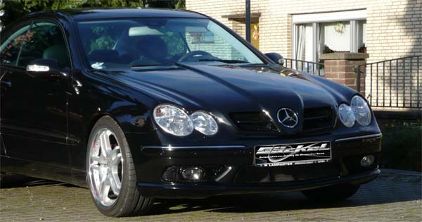 CLK W209 Coupe Cabrio
