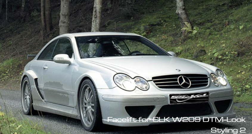 CLK W209 DTM Look Bodykit goeckel