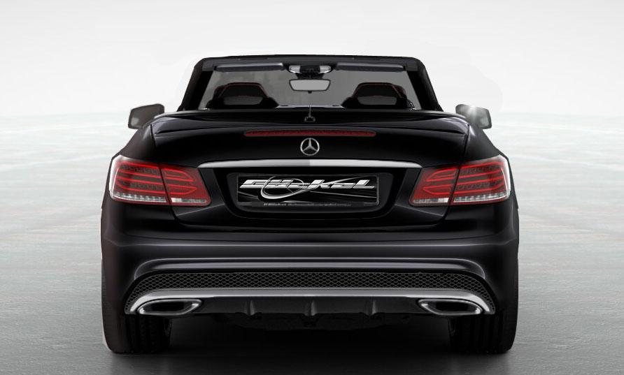 Mercedes Benz C W205 S205 Heckblende Diffusor Auspuff