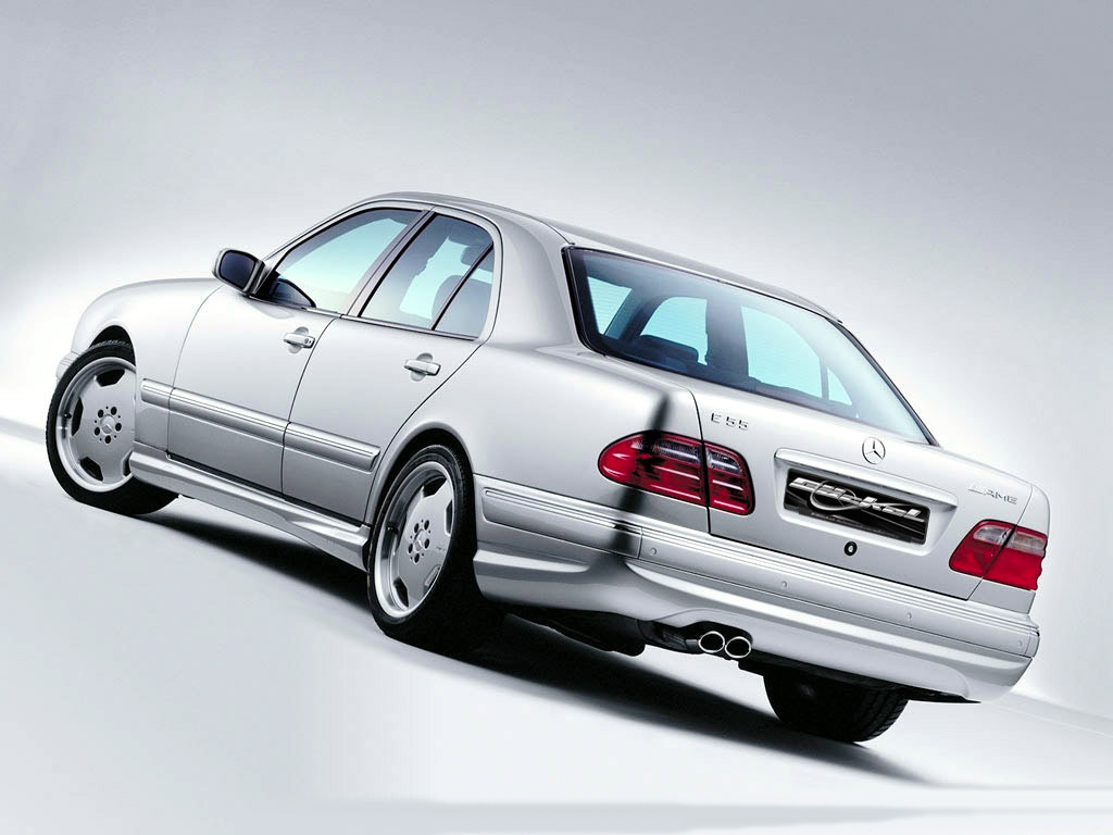 Heckverkleidung AMG55-Look Mercedes_E-Klasse_W210_AMG 55 Goeckel