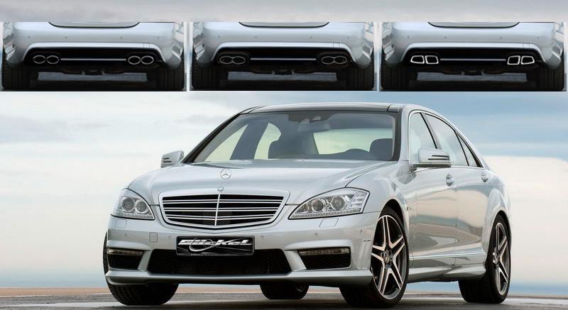 Mercedes Benz Tuning S Klasse W221 Styling Zubehör Autozubehör