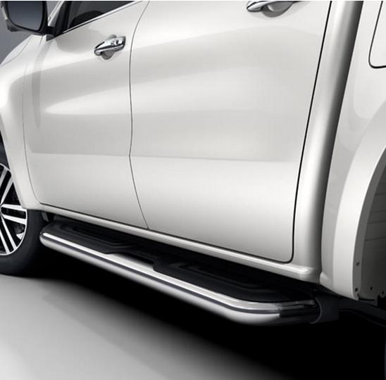 Side Bar Edelstahl silber X-Klasse W470 Original Mercedes-Benz